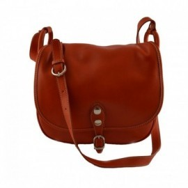 Woman Leather Shoulder Bag  - Code: 589