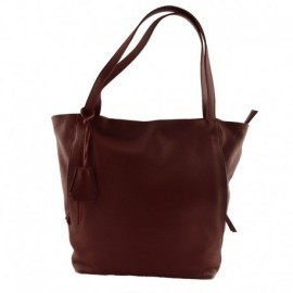 Genuine Leather Shopper Bag  - Code: N176