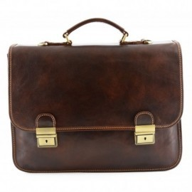 Leather Business Bag  - Code: 225
