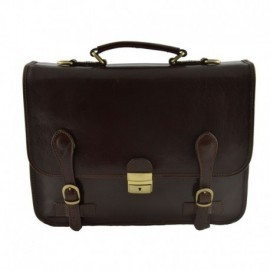 Leather Business Bag  - Code: 958