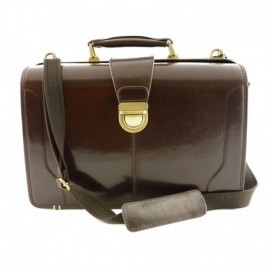 Genuine Leather Doctor Bag, three compartments  - Code: br10-278 o VF6862-1