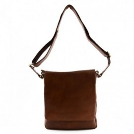 Genuine Leather Bag for Man with Zip Extension  - Code: 9986-1