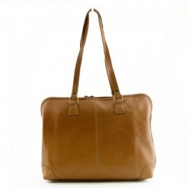 Genuine Leather Woman Business Bag 1 compartment  - Code: 309