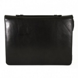 Genuine Leather A4 Document Folder with Compartments  - Code: 8876_4