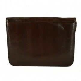 Genuine Leather A4 Document Folder with Interior Compartments  - Code: wa15_834