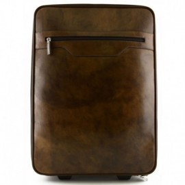 Leather Trolley with Outside and Inside Pockets  - Code: 294-20