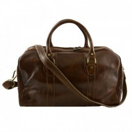 Genuine Leather Travel Bag  - Code: 077