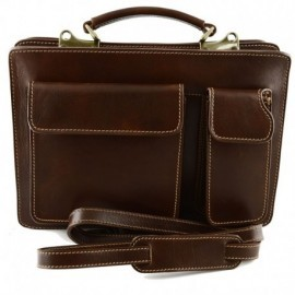 Genuine Leather Business Bag mod. Small  - Code: 212