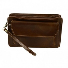 Genuine Leather Man Clutch  - Code: 100B