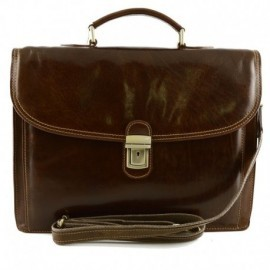 Genuine Leather Business Bag  - Code: 1050