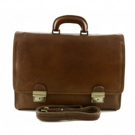 Genuine Leather Business Bag  - Code: 1060