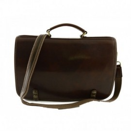 Genuine Leather Business Bag  - Code: 254