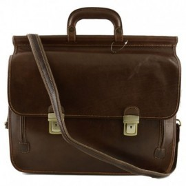Genuine Leather Business Bag  - Code: 1439
