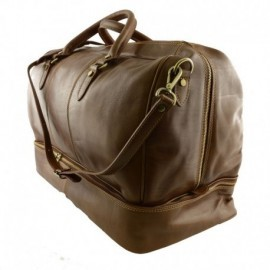 Genuine Leather Travel Bag  - Code: 0789