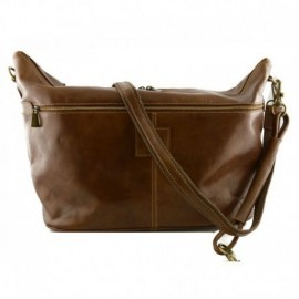 Genuine Leather Travel Bag  - Code: 427