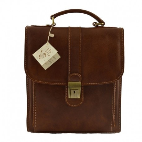 Man Matte Leather Bag  - Code: 106_op