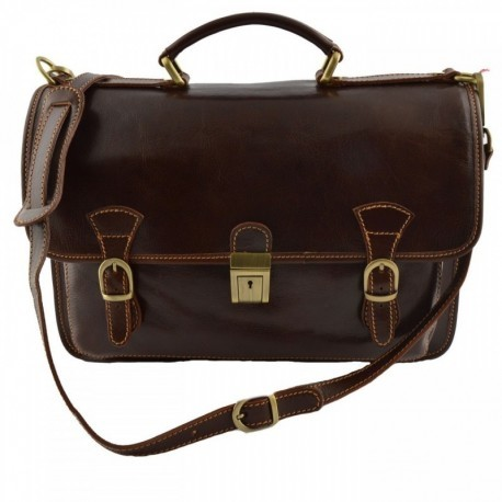 Leather Business Bag  - Code: 959