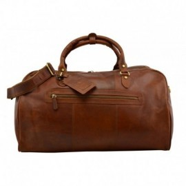 Genuine Leather Travel Bag  - Code: TB001
