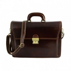 Genuine Leather Business Bag  - Code: 1011