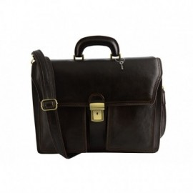 Genuine Leather Business Bag  - Code: 1012