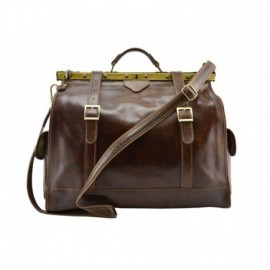 Genuine Leather Travel Bag  - Code: 2006F