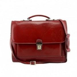 Genuine Leather Business Bag  - Code: 1080