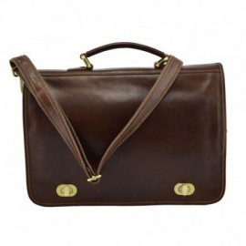 Genuine Leather Business Bag  - Code: 255G