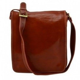Genuine Leather Crossbody Bag  - Code: 603