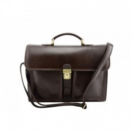 Genuine Leather Business Bag  - Code: 1015