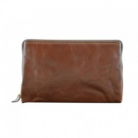 Genuine Leather Unisex Clutch  - Code: 7X3020C