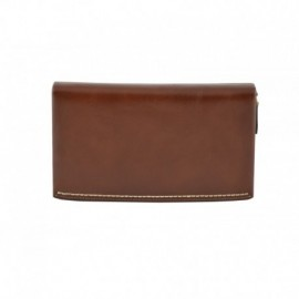 Genuine Leather Unisex Clutch  - Code: L16038D